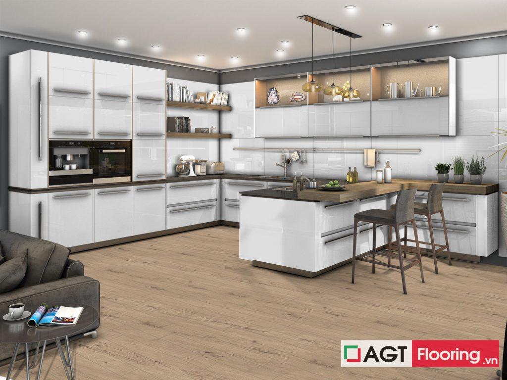 Sàn gỗ AGT Flooring PRK 603 cho nhà bếp