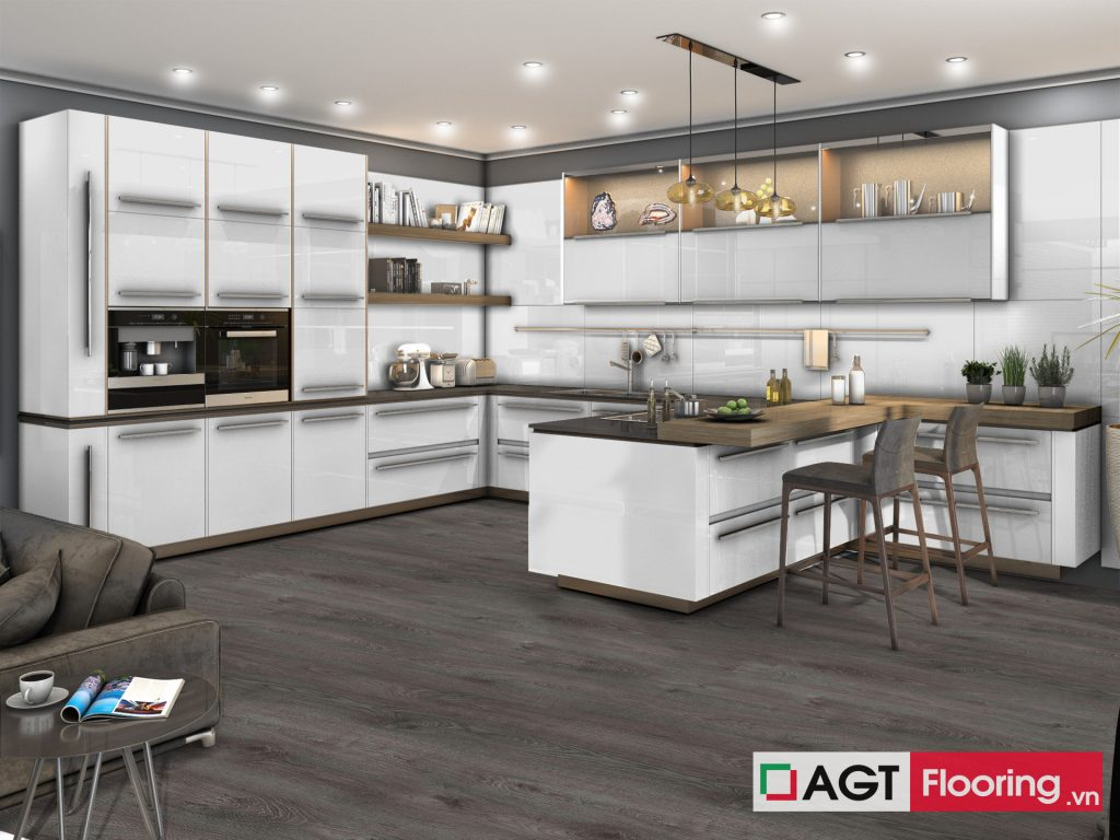 Sàn gỗ AGT Flooring PRK 903 cho nhà bếp