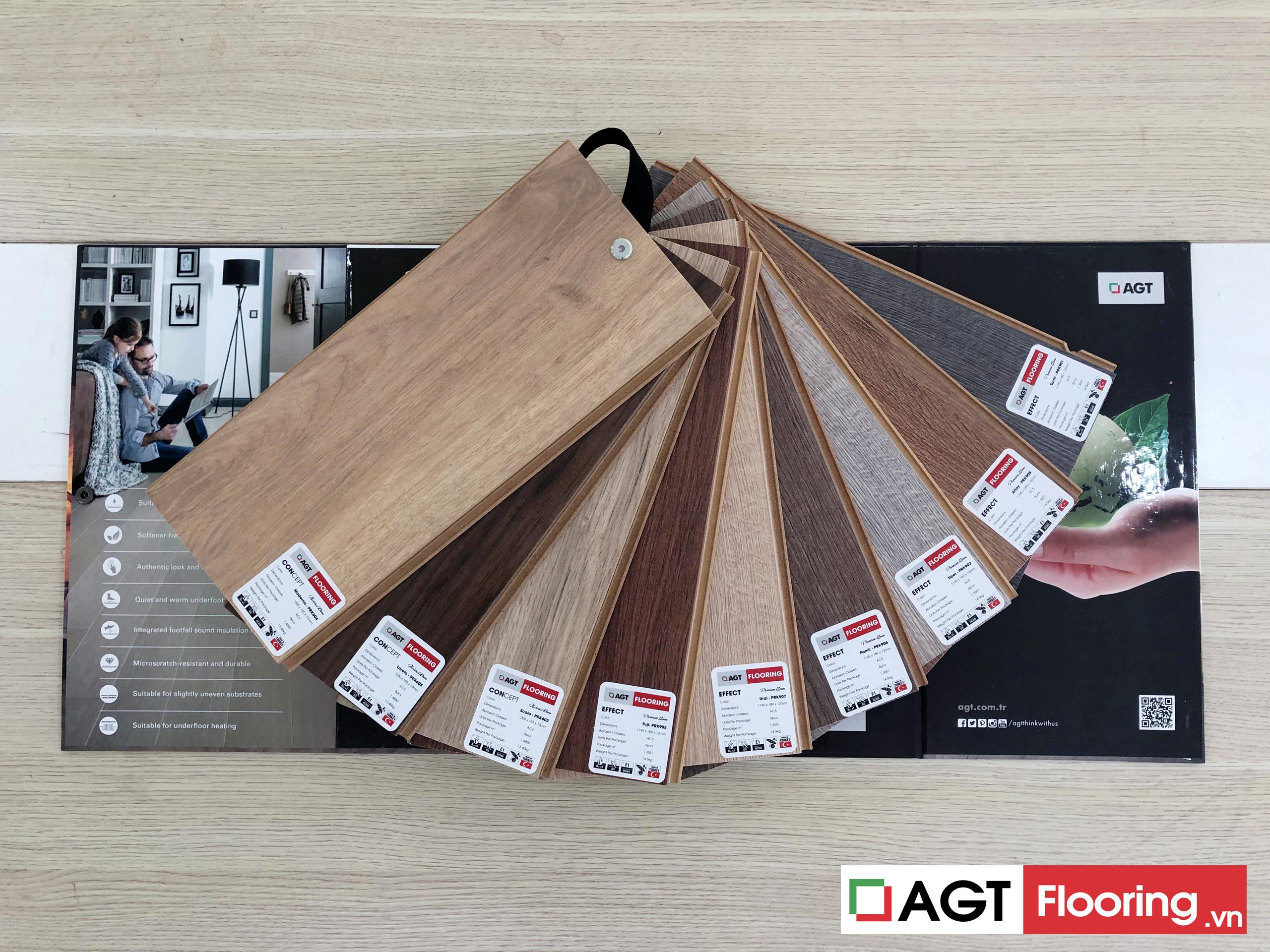 mẫu sàn gỗ AGT Flooring made in turkey