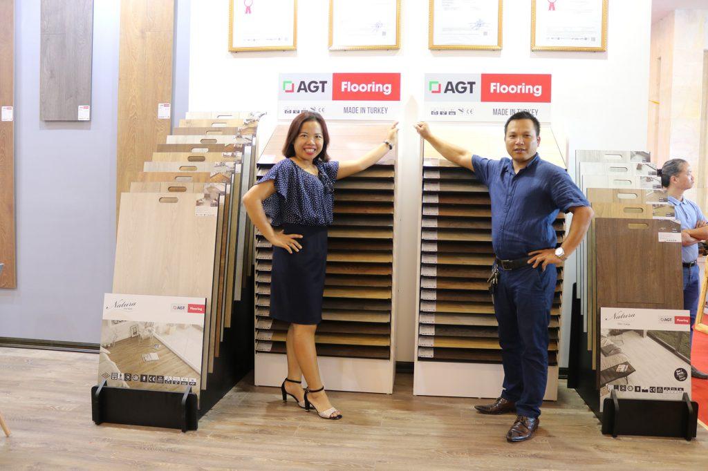 hội chợi vietbuild sàn gỗ AGT Flooring